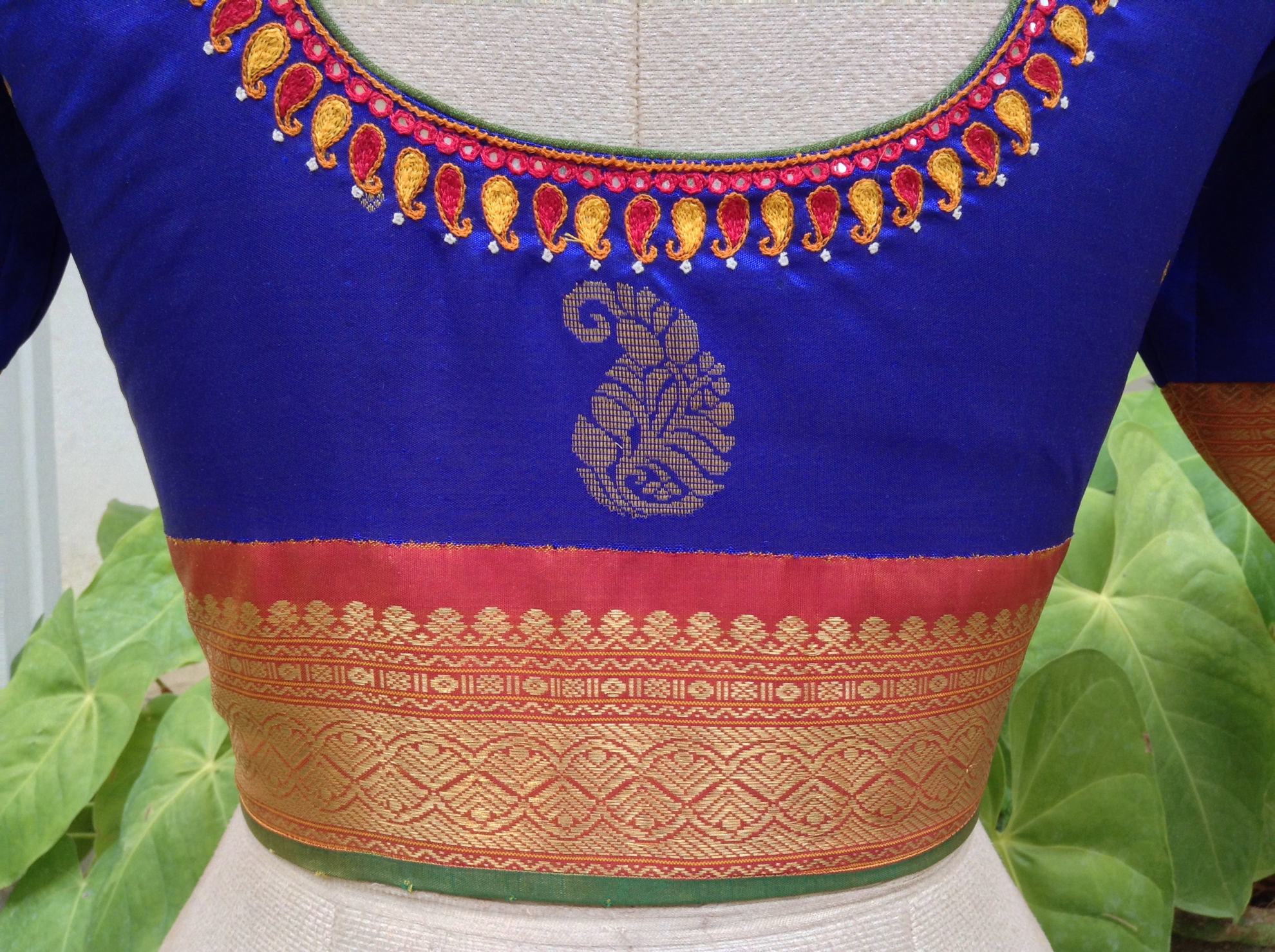NAVARATRI IN BLUE
