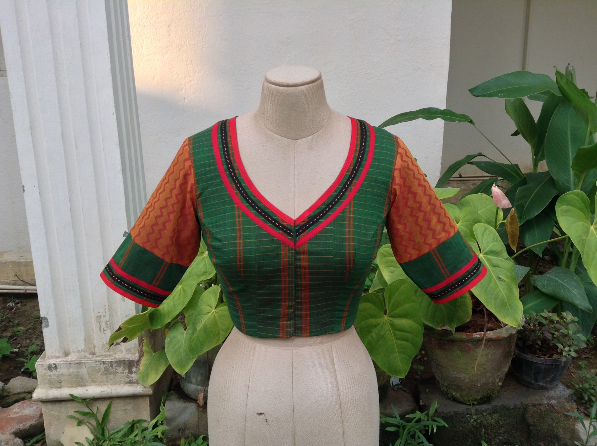 WOVEN IN GREEN